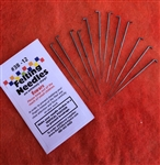 Felting Needles - Twelve Pack